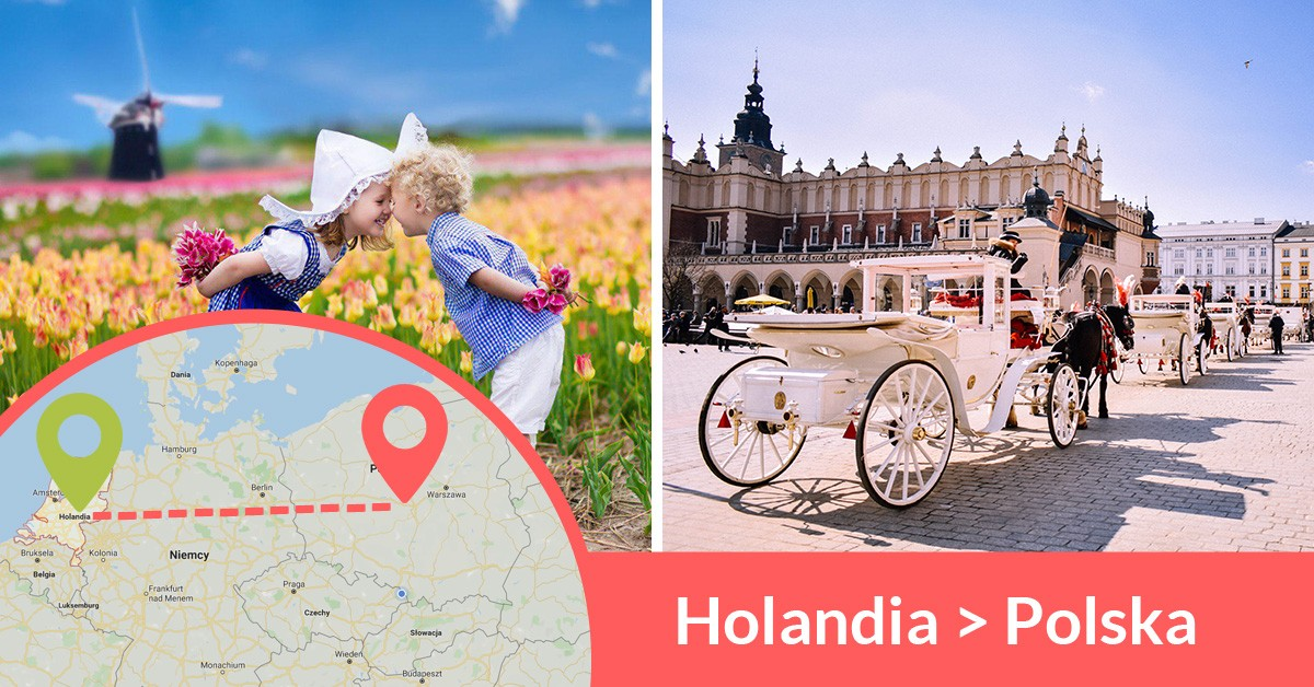 Codziennie busy z Holandii do Polski wożą tysiące zadowolonych pasażerów busami z adresu na adres
