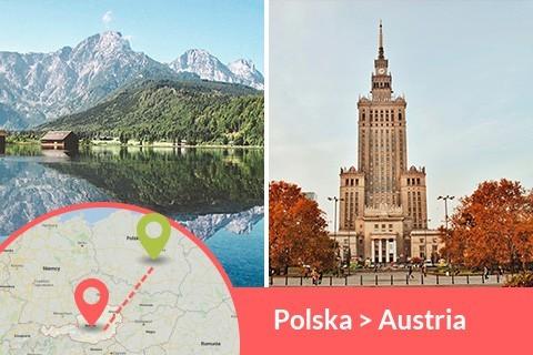 Przewozy busem z Polski do Austrii codziennie z adresu na adres, Busy jeżdżą do każdego miasta w Austrii w najniższych cenach