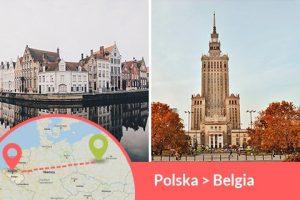 Przewozy busem z Polski do Belgii codziennie z adresu na adres, Busy jeżdżą do każdego miasta w Belgii w najniższych cenach