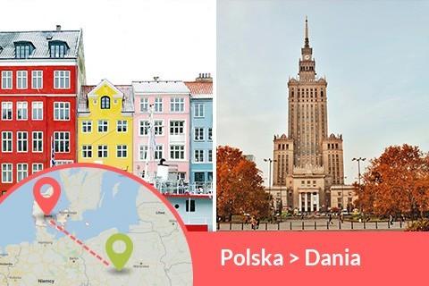 Przewozy busem z Polski do Danii codziennie z adresu na adres, Busy jeżdżą do każdego miasta w Danii w najniższych cenach
