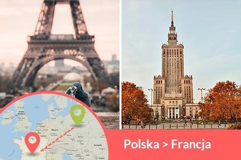 Przewozy busem z Polski do Francji codziennie z adresu na adres, Busy jeżdżą do każdego miasta w Francji w najniższych cenach