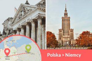 Busy z Polski do Niemiec codziennie nowi przewoźnicy wożą pasażerów z adresu na adres w całej Polsce i całych Niemiczech