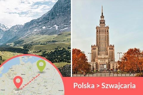 Przewozy busem z Polski do Szwajcarii codziennie z adresu na adres, Busy jeżdżą do każdego miasta w Szwajcarii w najniższych cenach