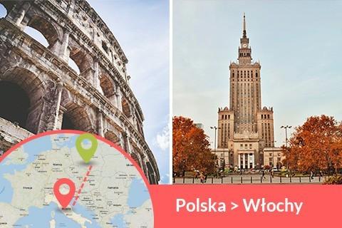 Przewozy busem z Polski do Włoch codziennie z adresu na adres, Busy jeżdżą do każdego miasta w Włoch w najniższych cenach