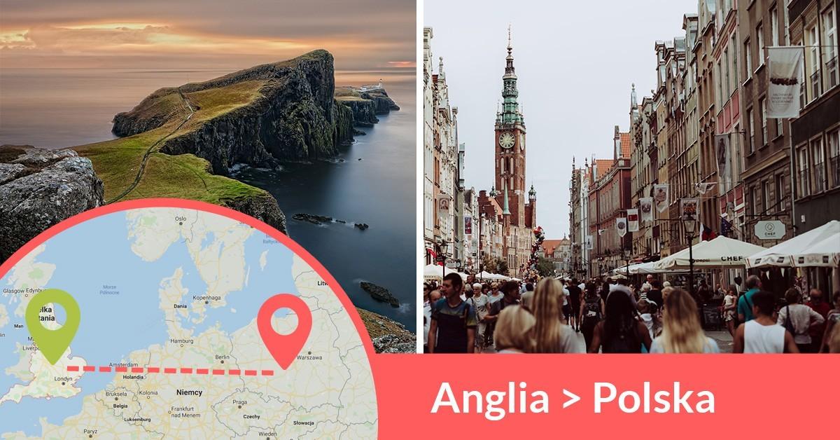 Codziennie wyjeżdżają busy z Anglii do Polski przewożąc pasażerów z adresu na adres