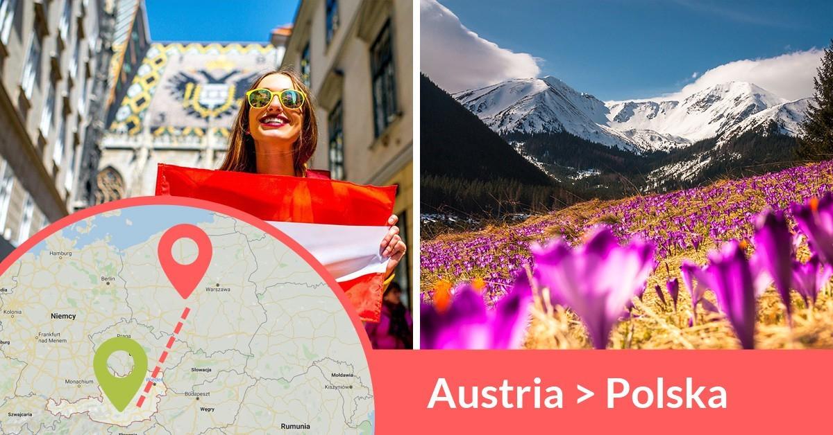 Codziennie wyjeżdżają busy z Austrii do Polski przewożąc pasażerów z adresu na adres