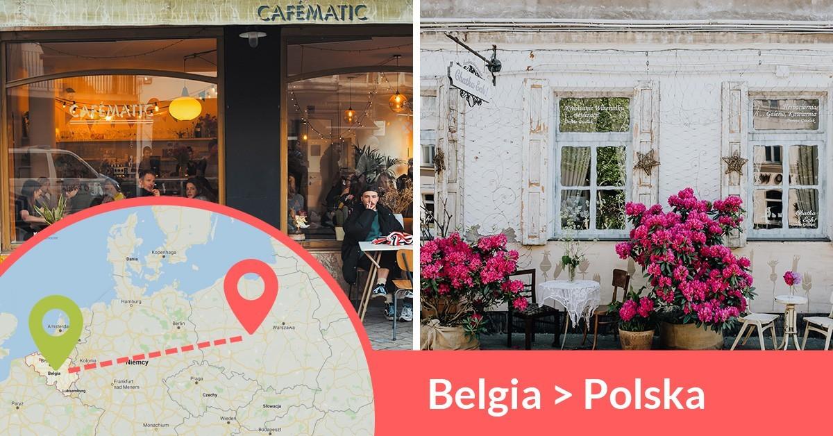 Codziennie wyjeżdżają busy z Belgii do Polski przewożąc pasażerów z adresu na adres