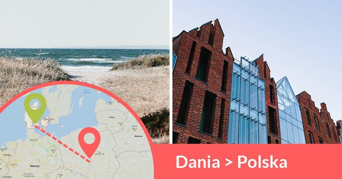 Codziennie wyjeżdżają busy z Danii do Polski przewożąc pasażerów z adresu na adres