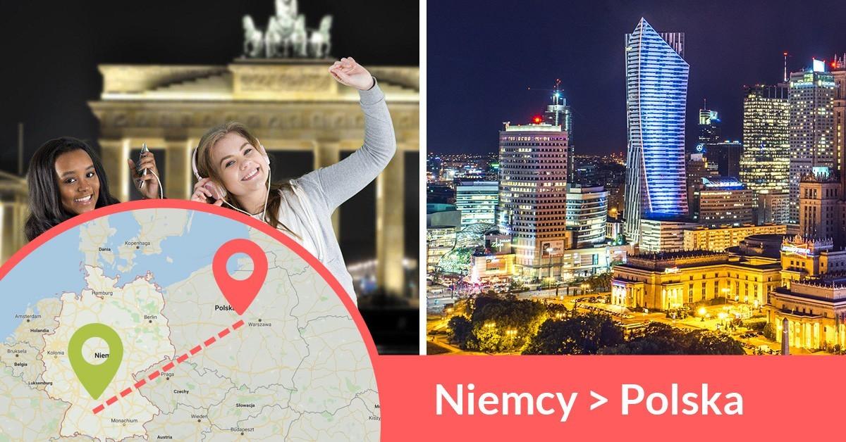 Busy z Niemiec do Polski jeżdżą codziennie, busy wożą pasażerów z adresu na adres z Niemiec do Polski
