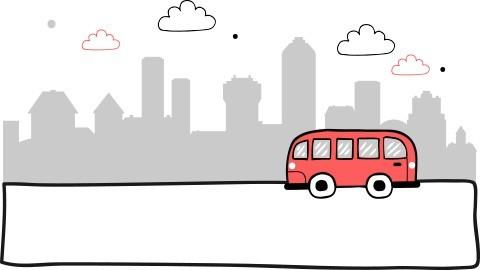 Busy do Eckernforde z Polski. Z Polski do wszystkich miast w Danii. Codziennie ponad 250 przewoźników wozi pasażerów busem z adresu na adres