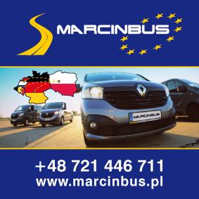 Marcin Bus - rekalma Bus do Holandii