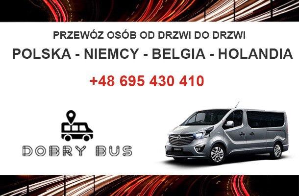 Bus do Niemiec aktywna do 7 wrzesnia 2020r