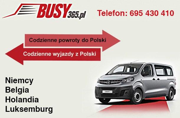Bus do Niemiec  aktywna do 14 sierpnia 2020r
