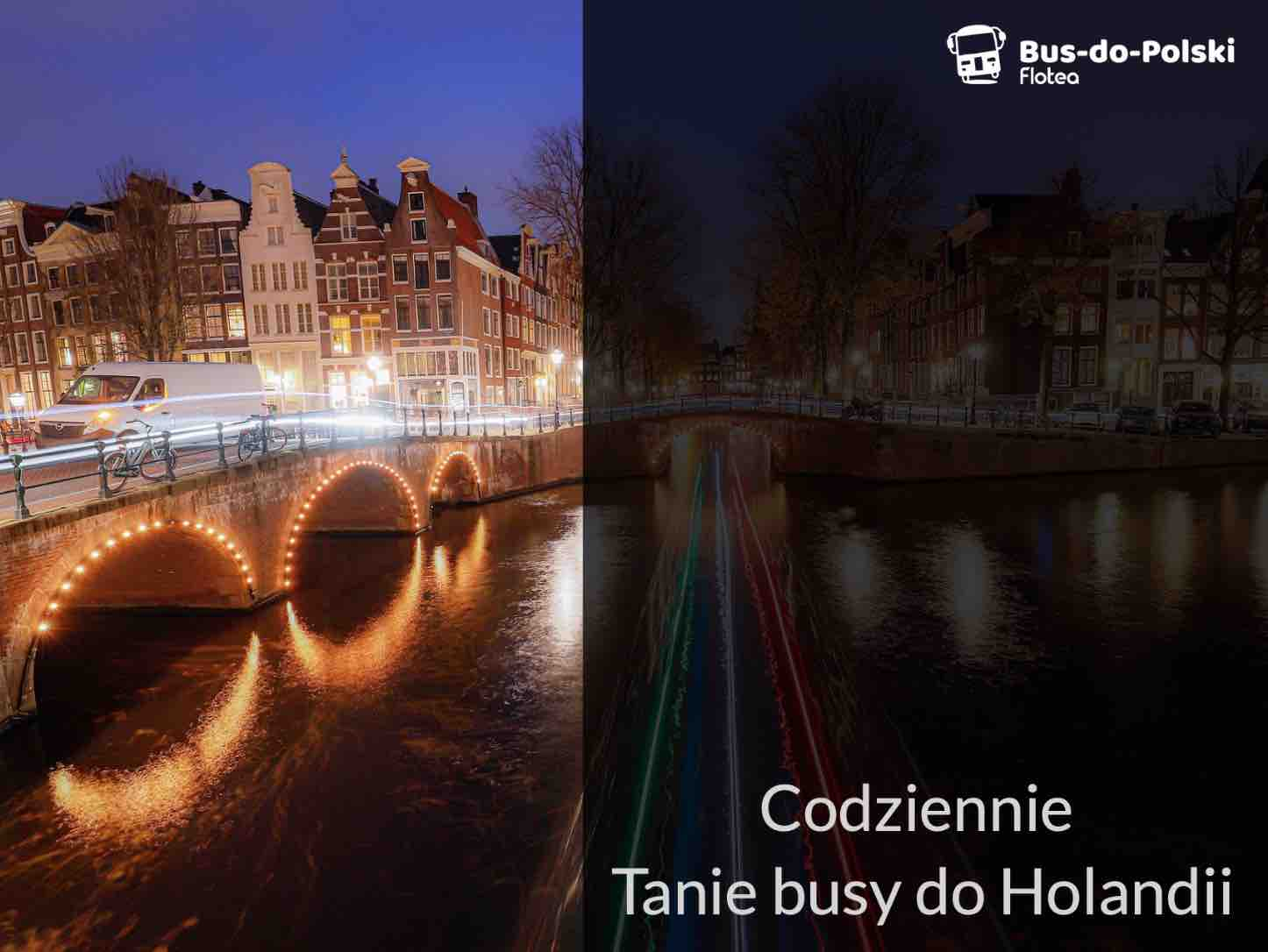 Bus Polska Holandia, Busy do Holandii