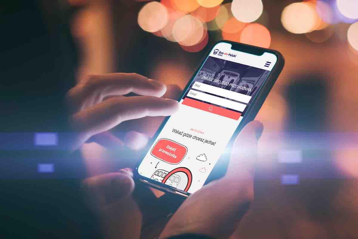 Aplikacja bus do polski dla pasażera
