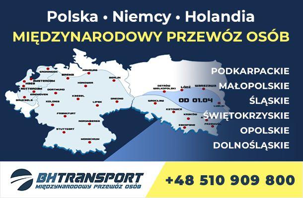 BH Transport - Busy do Holandii wazna do 18.06.2022