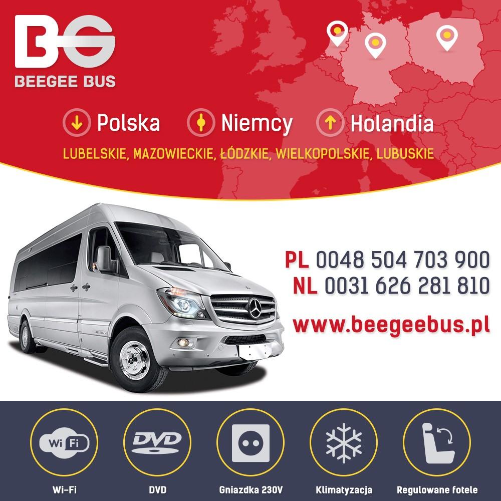 Przewoznik Beegebus, busy z Polski do Niemiec