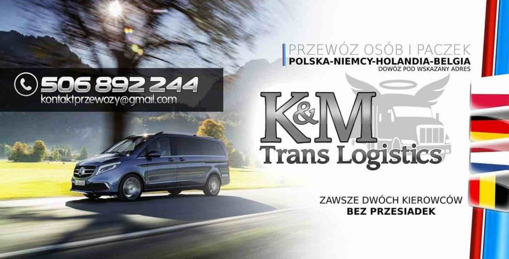KMTrans bus do Niemiec i Busy do Polski
